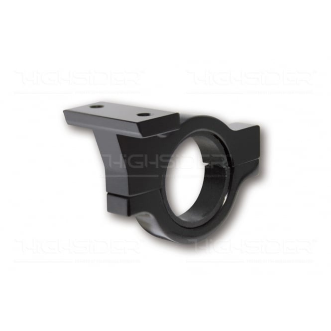 Highsider Black Handle bar bracket for the warning light unit fits 22mm (7/8th) and 25mm (1