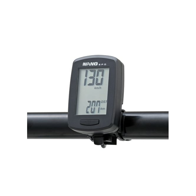 DAYTONA Nano Speedometer, compact design uses internal battery supplied with speed sensor