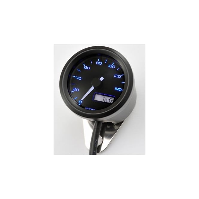 DAYTONA Velona 140 Speedometer 48mm Black