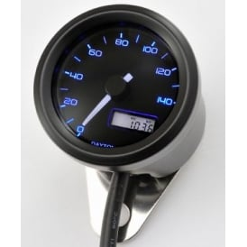 Velona 140 Speedometer 48mm Black