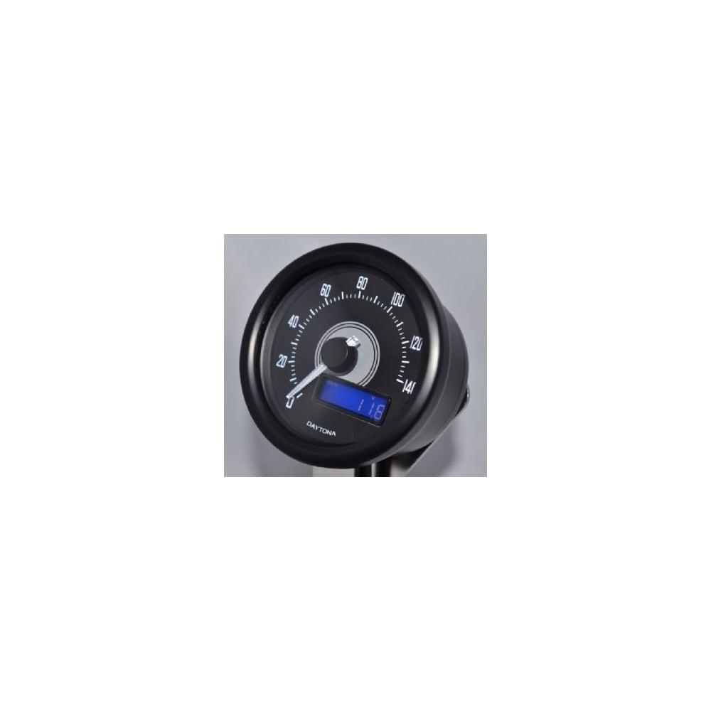 Daytona Velona 140 Speedometer 60mm Black Digital