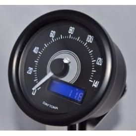 Velona 140 Speedometer 60mm Black