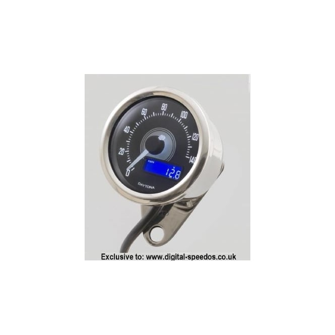 DAYTONA Velona 140 Speedometer 60mm Polished