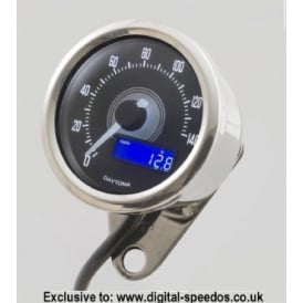 Velona 140 Speedometer 60mm Polished