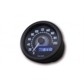 Velona 200 Speedometer 60mm Black