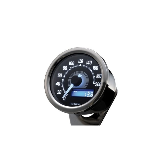 DAYTONA Velona 200 Speedometer 60mm Polished