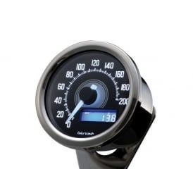 Velona 200 Speedometer 60mm Polished