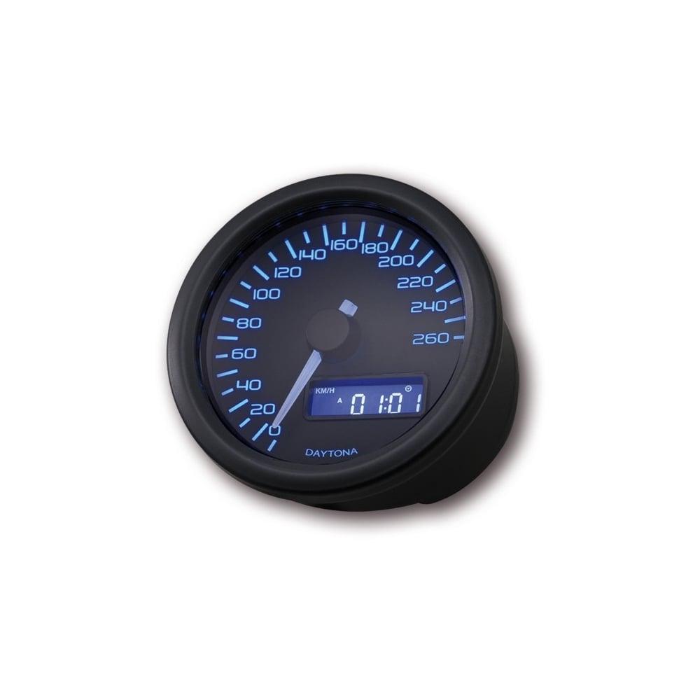 Velona 260 Speedometer 60mm Black