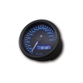 Velona 260 Speedometer 60mm Black