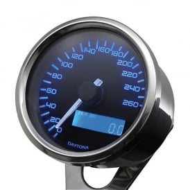 Velona 260 Speedometer 60mm Polished
