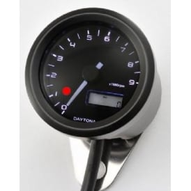 Velona 9K Tachometer With Shift Light 48mm Black