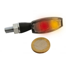 Blaze LED Power Amber Indicators with RED Tail running light and brake light Emarked