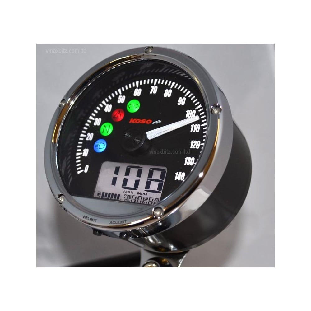 CRB01S/TNT-01S Speedometer 140 MPH/KPH - Includes a Magnetic Speed Sensor