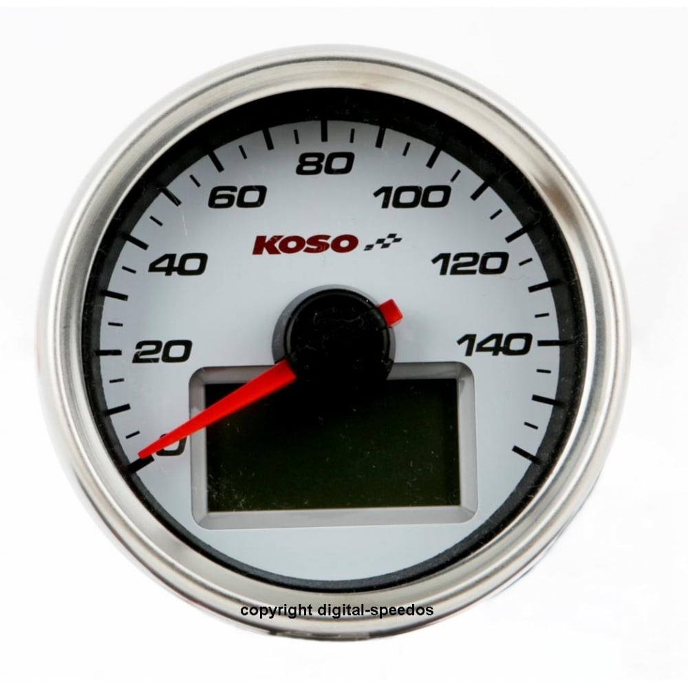 koso d55 speedometer white dial 160 mph kph p377 1217_image gauges page 9 of 11 acewell 7659 wiring diagram at webbmarketing.co