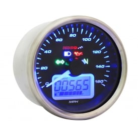 D64 Multifunction Speedometer - Includes a Magnetic Speed Sensor