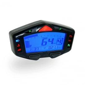 db-03r multifunction gauge - speed, rpm, fuel, warning lights, temp