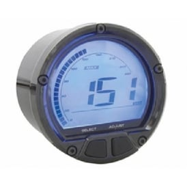 DL-02S Speedometer Black - Includes a Magnetic Speed Sensor