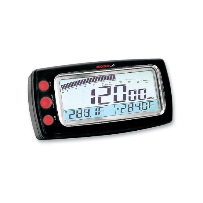 The Koso G2 Rev Counter And Temperature Gauge
