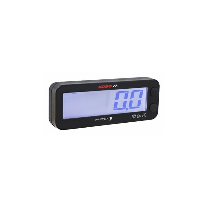 KOSO Pro 1 Multifunction Tachometer with Temp Gauge