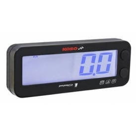 Pro 1 Multifunction Tachometer with Temp Gauge