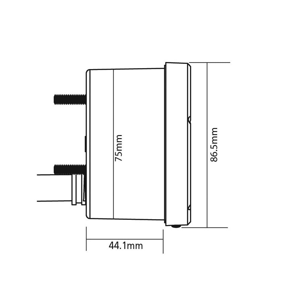Koso Tnt 8k Tachometer Wiring Diagram 80mm Single Or Multi Cylinder Applications