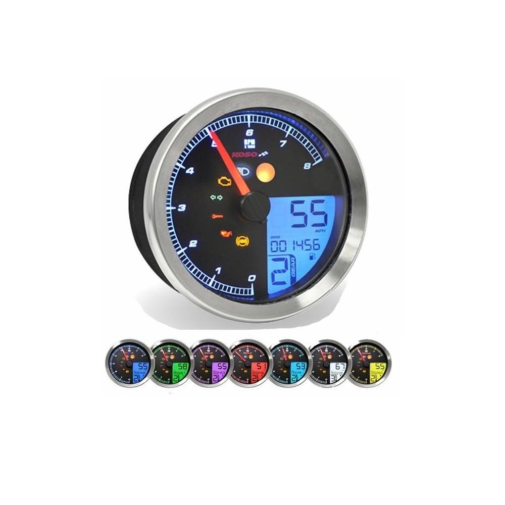 Yamaha Bolt Speedometer Wiring Diagram Diy Enthusiasts Koso Xv950 Scr Plug Play Gauge Digital Speedos Co Uk Rh Harley For Dummies Peterbilt