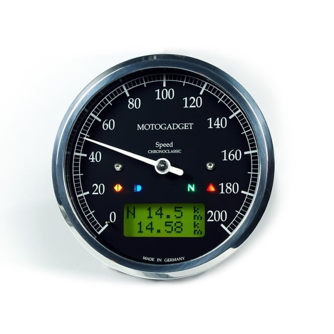 Motogadget Chronoclassic Multifunction Speedometer