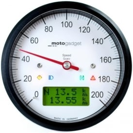 Motoscope Classic Speedometer Multifunction Gauge