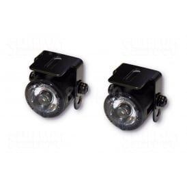 LED Front Position Lights With Brackets
