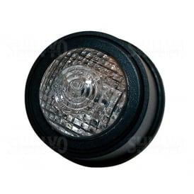 Old School Type 2 LED Tail Light Black