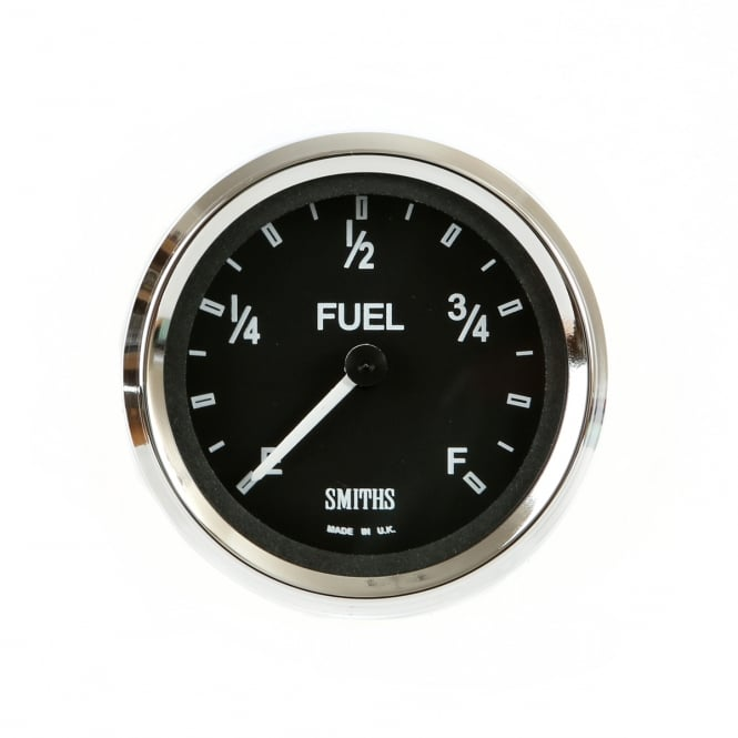 Smiths Black Cobra 52mm Fuel Gauge