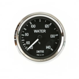 Black Cobra 52mm Water Temperature Gauge
