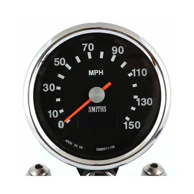 Smiths Black Dial 150 MPH Speedometer