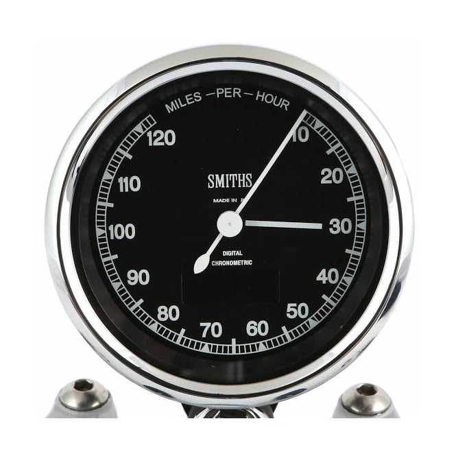 Smiths Chronometric 120 MPH Speedometer