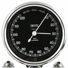Chronometric 125 MPH Speedometer