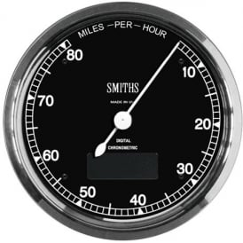 Chronometric 80 MPH Speedometer