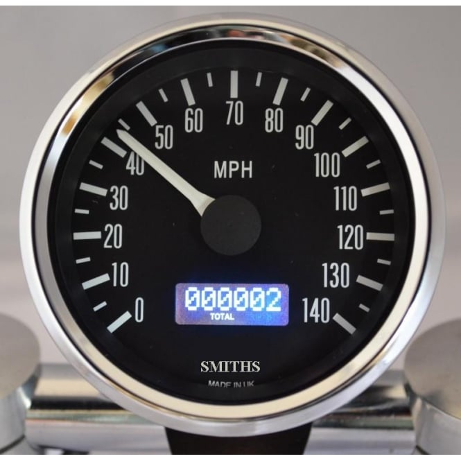 Smiths Classic Japanese Dial 140 MPH Speedometer