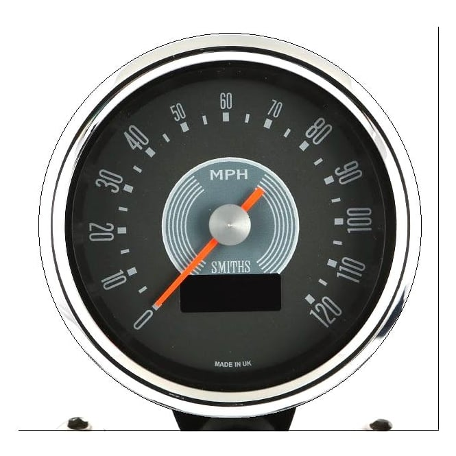 Smiths Grey Dial Speedometer