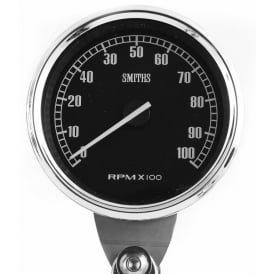 Highline 100mm diameter waterproof Tachometer available in two rpm ranges 10k and 12k