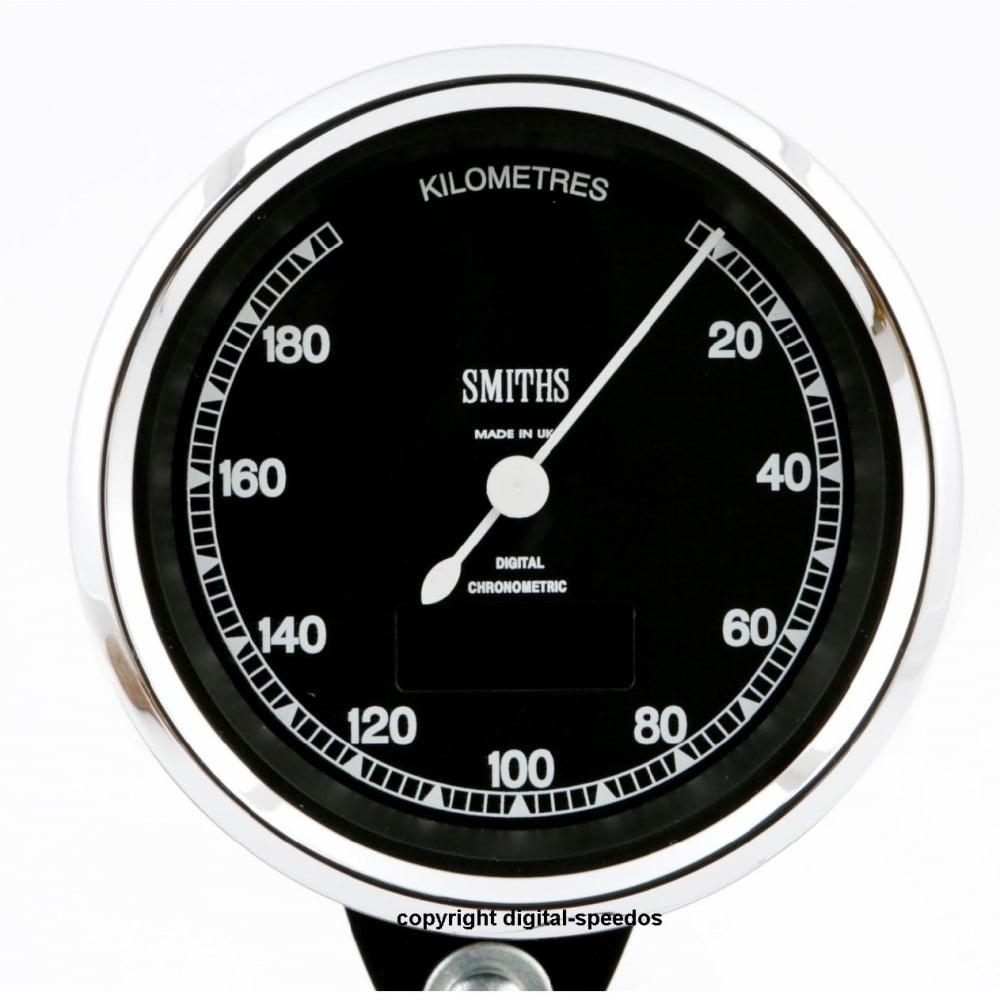 Smiths Highline Chronometric 190 KPH Speedometer