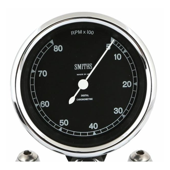 Smiths Highline Chronometric 8k Tachometer - Smooth Sweep Or Ticking Motion