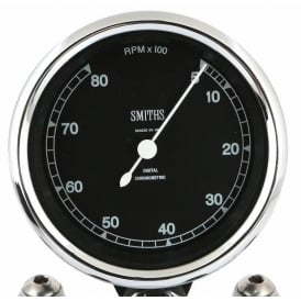 Highline Chronometric 8k Tachometer - Smooth Sweep Or Ticking Motion