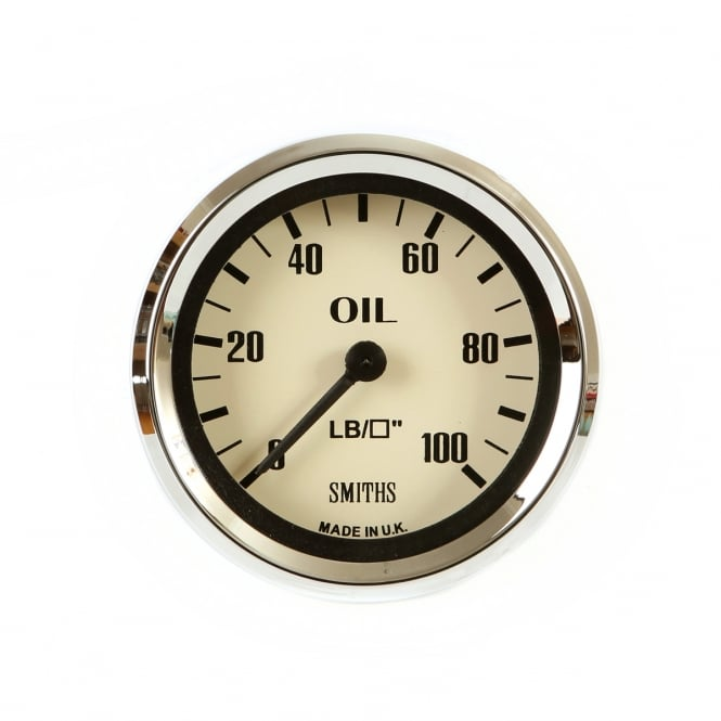 Smiths Magnolia 52mm Oil Pressure Gauge