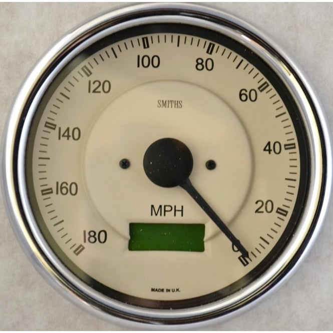 Smiths Magnolia Cobra Anti-Clockwise 180 MPH Speedometer