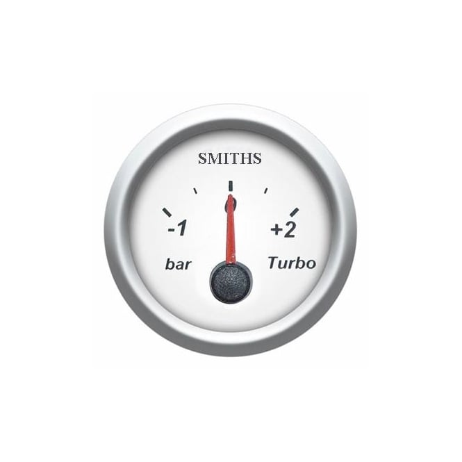 Smiths Prism 52mm Turbo Boost Gauge