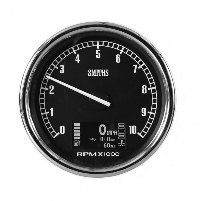 Smiths Proled Multifunction 100mm Car Gauge